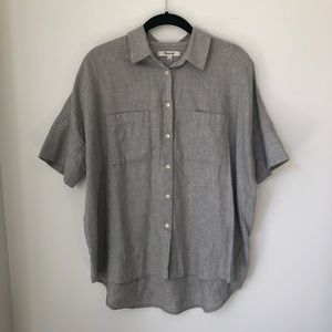 Madewell | Grey Flannel Courier Shirt